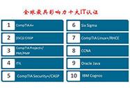 全球最具影响力的十大IT认证