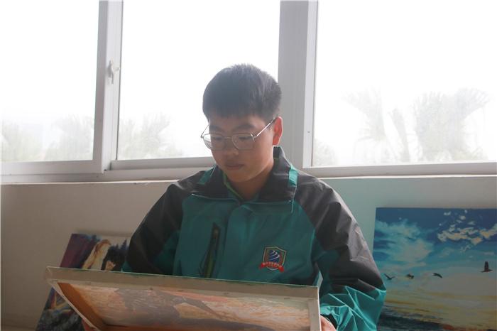 【新生故事】王正宇:职校三年毕业 来新华继续学习