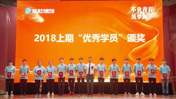 重庆互联网技术重庆新华电脑学校学生优秀奖