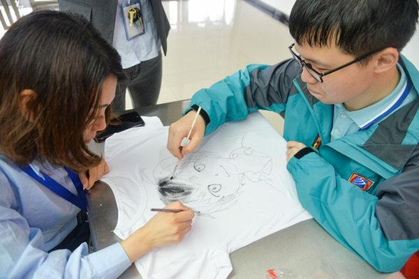 重庆新华学生手绘