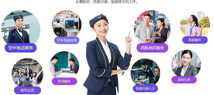 【专业说】重庆新华之高级乘务与商务行政管理专业