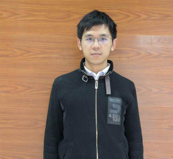 重庆新华电脑学校网站开发专业1401班的学生