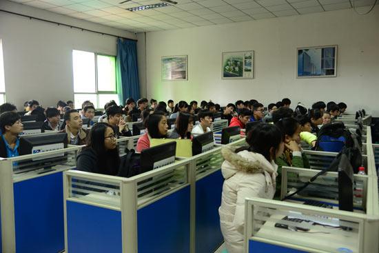 重庆新华电脑学校校园招聘会