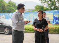 重庆市北碚区退役军人事务局黎局长等一行到重庆新华调研考察