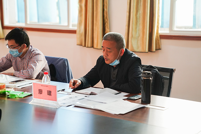 市人社局局长谢辛一行莅临我校检查指导疫情防控和开学准备工作