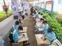 """重庆新华举办2020""""最美校园""""手绘大赛"""