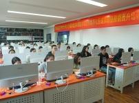 区人社局领导莅临重庆新华检查指导2020届重师毕业生职业技能培训工作
