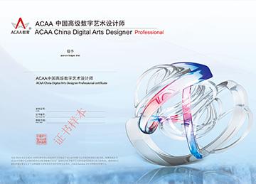 中国高级数字艺术设计师